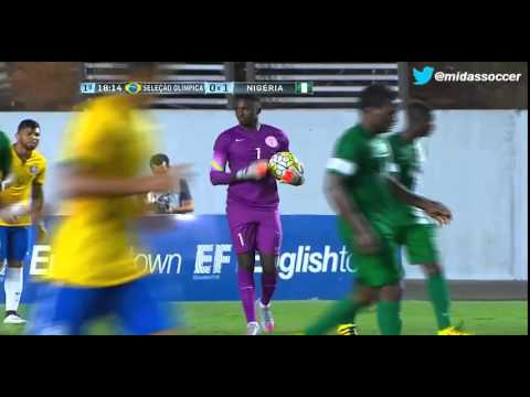 Brasil 0-1 Nigeria, International friendly game played in Vitoria March 24-2016