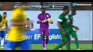 Brasil 0-1 Nigeria, International friendly game played in Vitoria March 24-2016