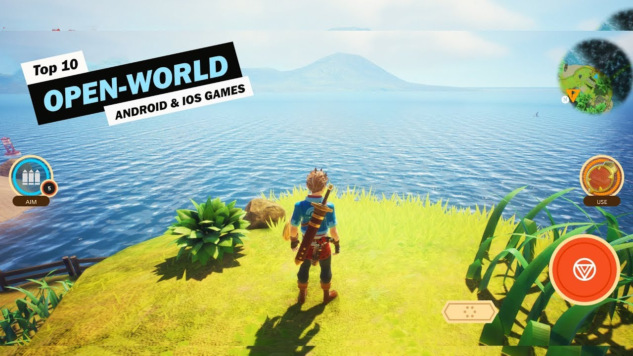 Top 10 Open World Games For Android Ios 2019 Youtube