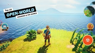 Top 10 Open World Games For Android & Ios 2019!
