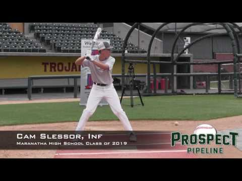 Cam Slessor Prospect Video, Inf, Maranatha High School Class of 2019