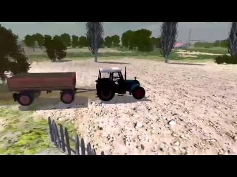 Игры тракторы Гонки на тракторах