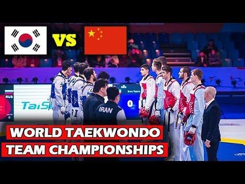 World Taekwondo Team Championships | [SEMI-FINAL] KOREA vs CHINA | WT Grand Slam 2017-2018 Season