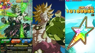100% POTENTIAL SYSTEM NEW TRANSFORMING TEQ LR BROLY SHOWCASE! Dragon Ball Z Dokkan Battle