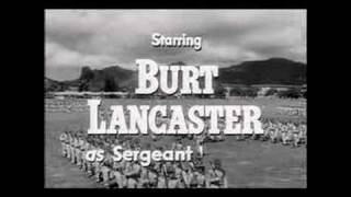 FROM HERE TO ETERNITY(1953) Original Theatrical Trailer