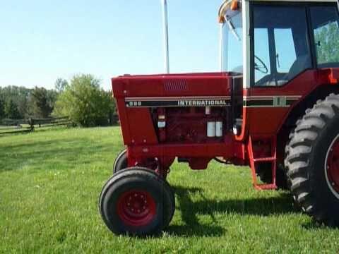1086 International Tractor Wiring Diagram International 986 Tractor 2010 Youtube
