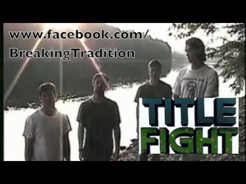 Head in the Ceiling Fan Title Fight Acoustic Cover - YouTube
