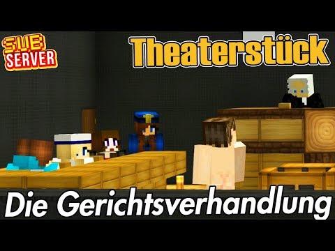 Die Gerichtsverhandlung! - Theaterstück! - Minecraft SubServer | Earliboy