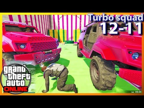 #FREDNY RPG VS INSURGENT - Turbo Squad - GTA V ONLINE (2018.08.29)
