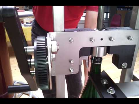 Rapid 49 Floor Corker For Champagne With Wire Capper