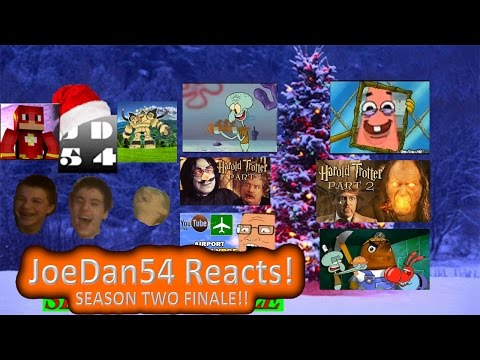 JoeDan54 Reacts! SEASON 2 FINALE!! Christmas YTPs, Flesh Eatin' Slugs, & much MOAR! - S2E30