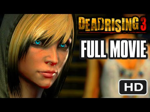 DEAD RISING 3 - FULL MOVIE [HD] - Complete Nightmare Walkthrough 1080p (Cutscenes / Cinematics)