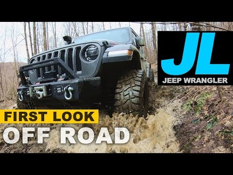 Jeep Wrangler JL Off-Road First Test