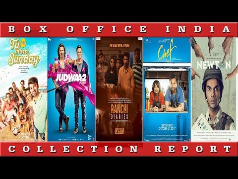 Box Office Collection Of Judwaa 2,Ranchi Diaries, Newton, Chef |Box Office India
