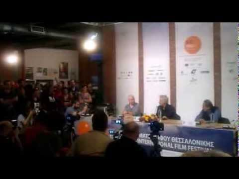 MySalonika.gr JIM JARMUSCH press conference at 54th THESSALONIKI FILM FESTIVAL,GR Nov2 2013