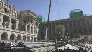 In restoring a century-old palace, a step toward rebuilding Afghanistan's independence