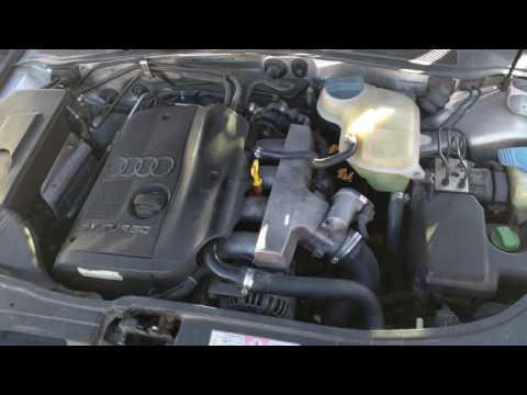 2001 Audi a4 1.8t motor funcionando