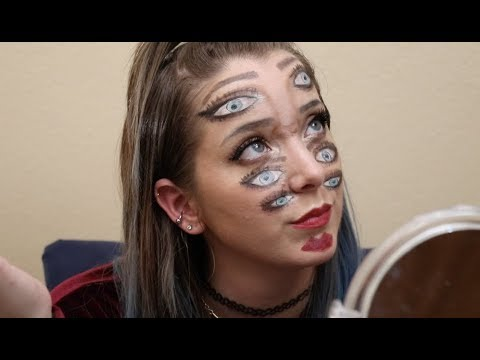 Doing Double Vision Makeup
