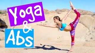 Relaxed Yoga & Abs Workout | Rebecca Louise