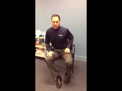 Deep Hip Rotation Stretch by John O'Halloran DPT
