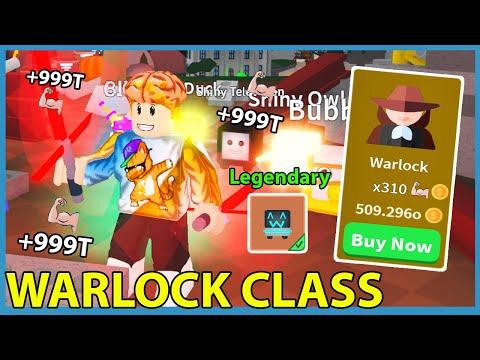 I Reached Warlock Class! Got Rare Legendary Pet! Capture The Flag Update! - Roblox Saber Simulator