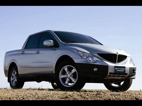 SsangYong Actyon Sports 2008 2.0 disel 4AT рекомендации владельца по автомобилю (АНТИПУЗОТЕРКА)