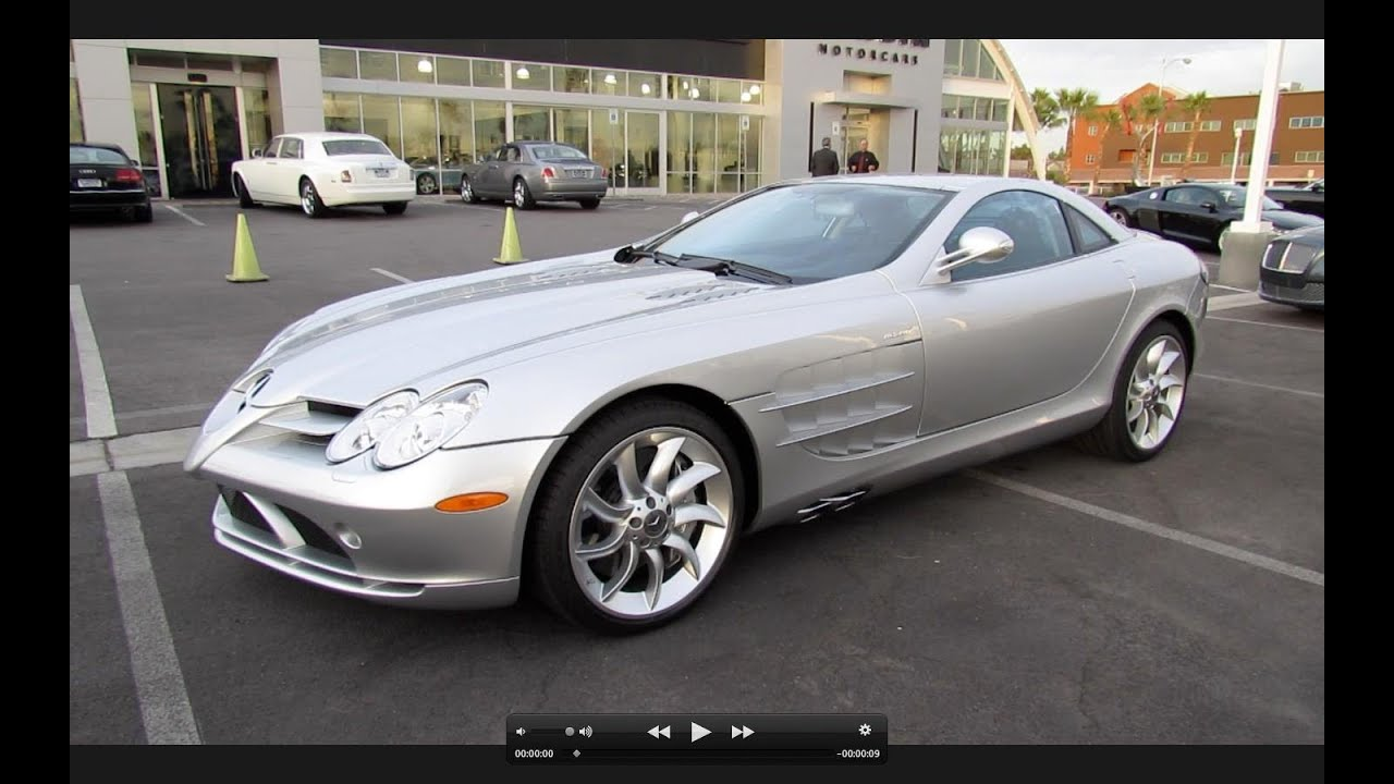 2006 Mercedes Benz Slr Mclaren Start Up Exhaust And In Depth