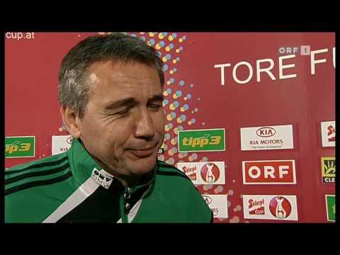 Peter Pacult schmollt nach dem Cup-Aus gegen Kärnten