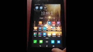 How Take Screens Asus Fonepad Tablets