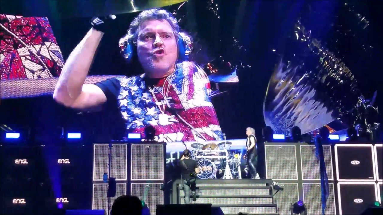 Def Leppard - Rick Allen's Drum Solo - SNHU Arena - Manchester, NH 2017 -  YouTube