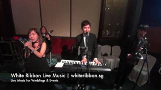 White Ribbon Live Music - Featuring 吃喝玩樂sg (Bilingual Band) - Singapore Live Band