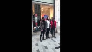 Kemale Amed Taksim istiklal caddesi
