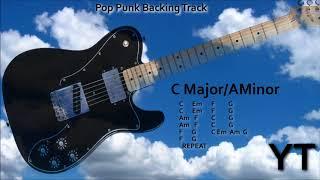 Pop Punk Backing Track C Major