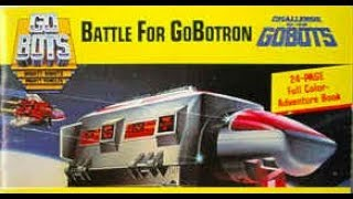 Challenge of the Gobots: Battle For GoBotron - Side One