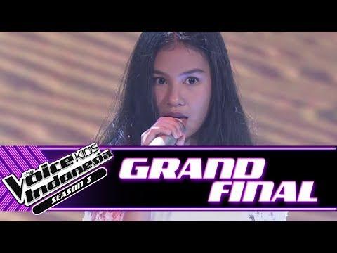 Vanessa Snow On The Sahara  Grand Final  The Voice Kids Indonesia Season 3 GTV