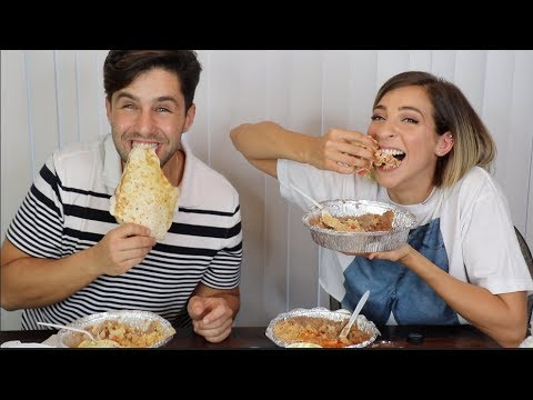 EPIC MEXICAN FOOD MUKBANG ft GABBIE HANNA