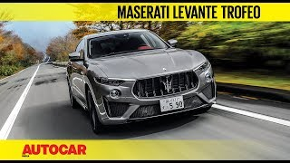 Maserati Levante Trofeo V8 | First Drive Review | Autocar India