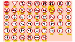 Repeat youtube video 15 SINALIZAÇÃO DE TRÂNSITO - Significado das placas de Regulamentação e Advertência