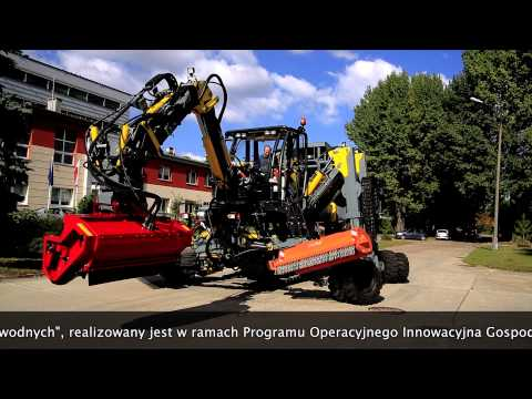PIMR Multifunction device for regenerative shaping the opened water courses