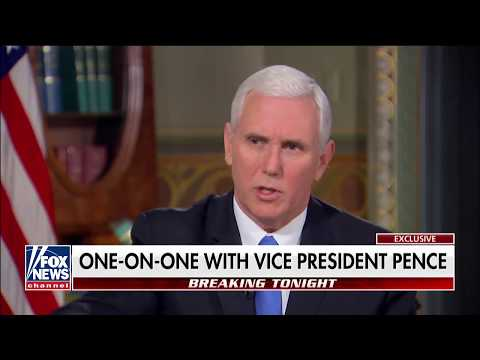 Mike Pence on The Story with Martha MacCallum