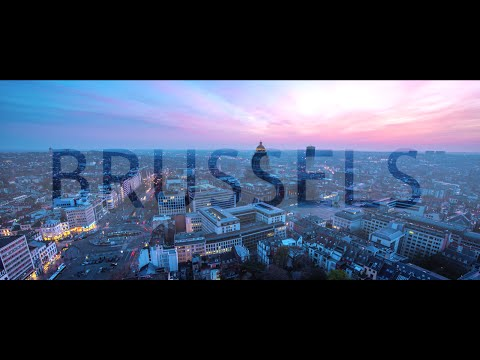 Travel Brussels in a Minute - Aerial Drone Video | Expedia