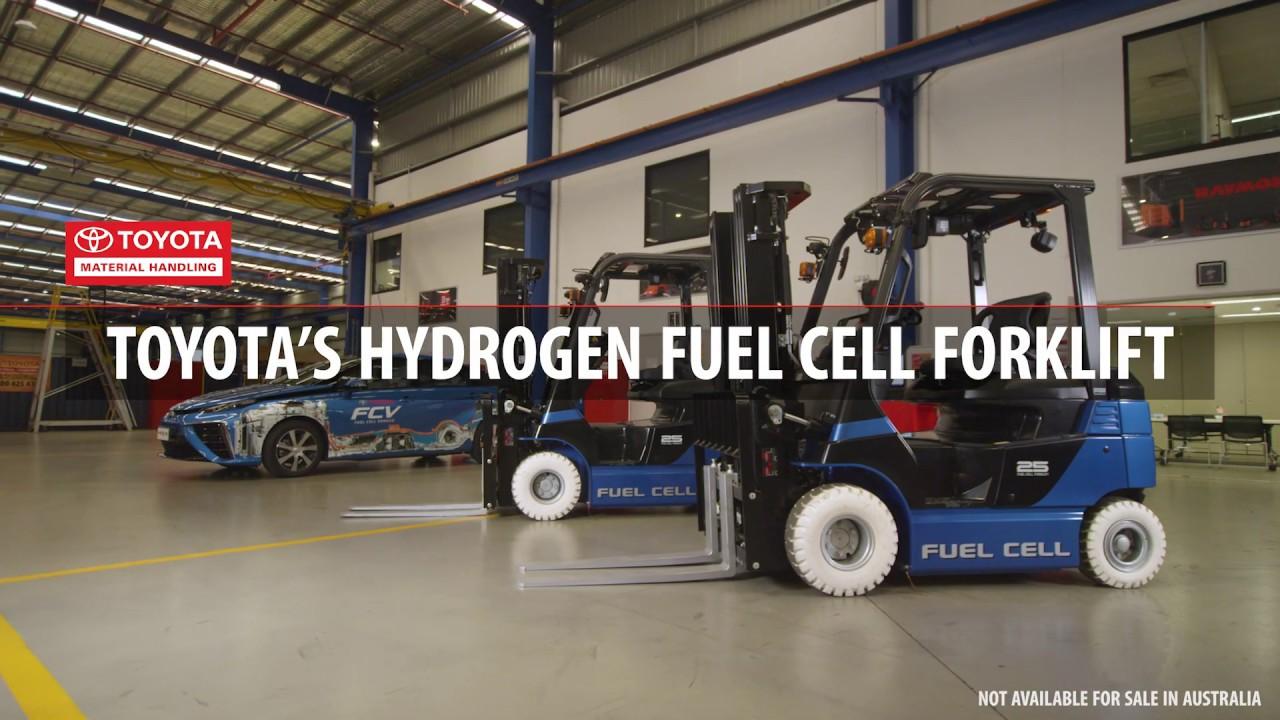 Toyota Hydrogen Fuel Cell Forklift & Mirai Vehicle in Australia