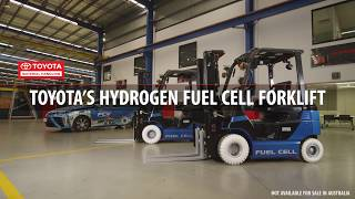 Toyota Hydrogen Fuel Cell Forklifts