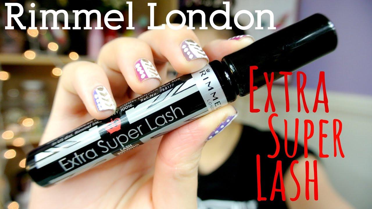 2c1e62229a3 MMM}: Rimmel London Super EXTRA Lash Mascara First Impression/Demo ...