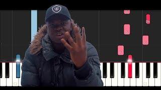 big shaq mans not hot slow easy piano tutorial