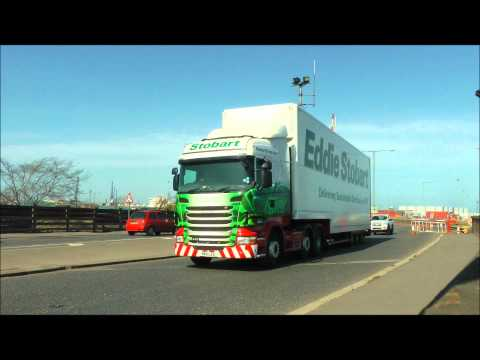 Eddie Stobarts at Teesport 28-3-2012.wmv