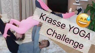 KRASSE YOGA CHALLENGE MIT MEINEM FREUND ♡ Sarah Nowak