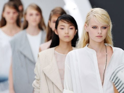 London fashion week: behind the scenes at Topshop's show