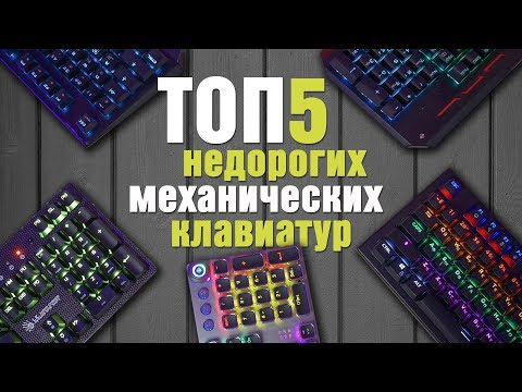 ТОП 5 бюджетных МЕХАНИЧЕСКИХ игровых клавиатур