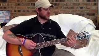 Inspiral Carpets Saturn 5-acoustic Guitar Lesson.